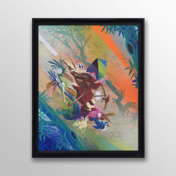 Jungle_Raiddog_Tropical_Aphrodisiac_#1_40x50